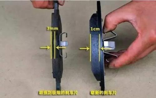 刹车有这3现象随时可能出事故 注意刹车片厚度